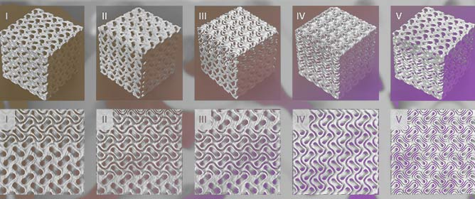 Design and Characterization of Sheet-Based Gyroid Porous Structures with Bioinspired Functional Gradients
