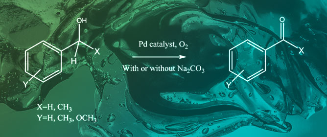 Pd-Based Polysaccharide Hydrogels as Heterogeneous Catalysts for Oxidation of Aromatic Alcohols
