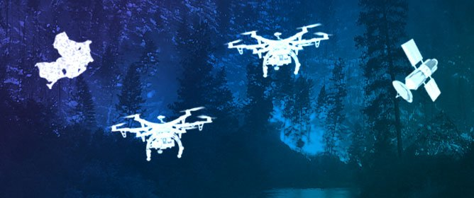 Unmanned Aerial Vehicles for Wildland Fires