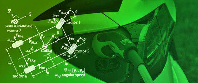 Reconfigurable Slip Vectoring Control in Four In-Wheel Drive Electric Vehicles