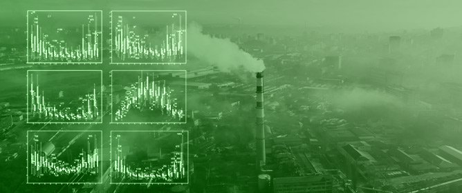 Control Models and Spatiotemporal Characteristics of Air Pollution in the Rapidly Developing Urban Agglomerations