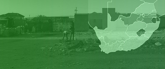 Waste Disposal Practices in Low-Income Settlements of South Africa