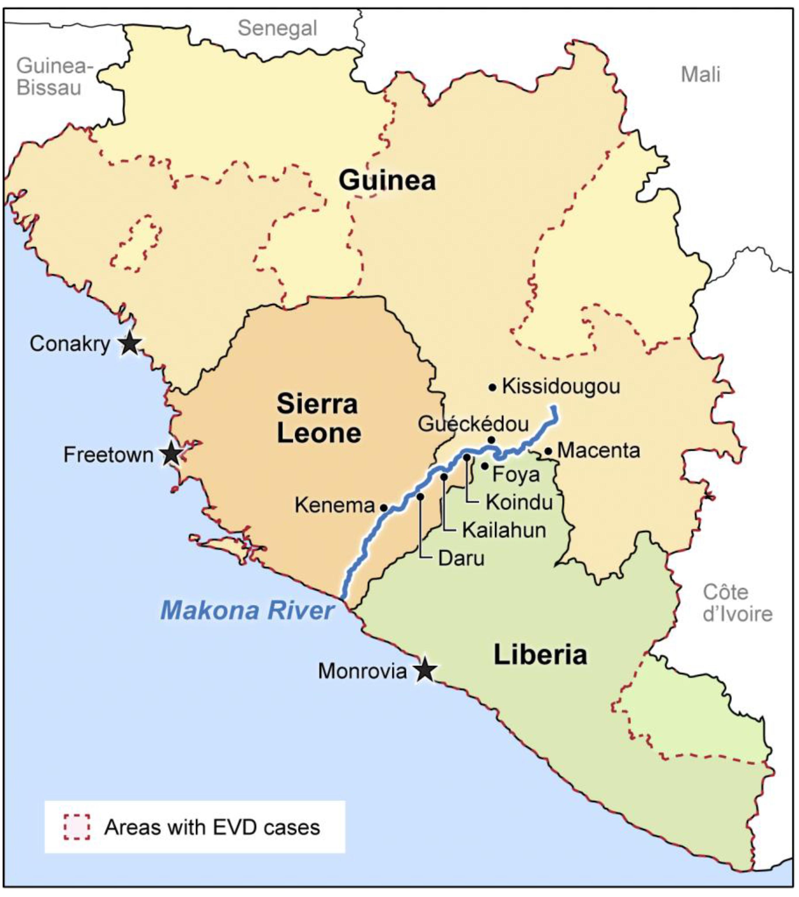 Africa Niger River Map | Pics | Download |