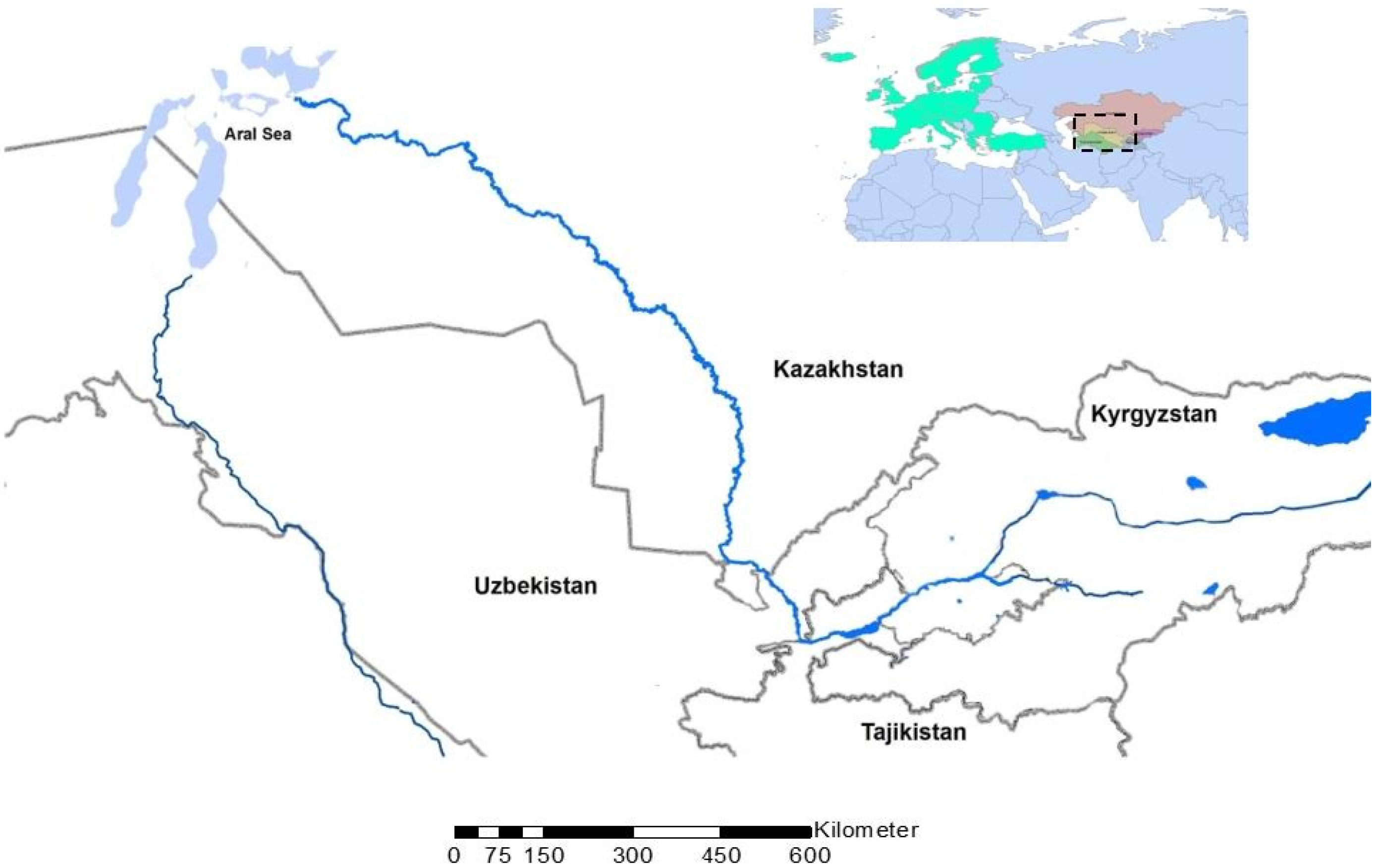 Water | Free Full-Text | Water Security in the Syr Darya