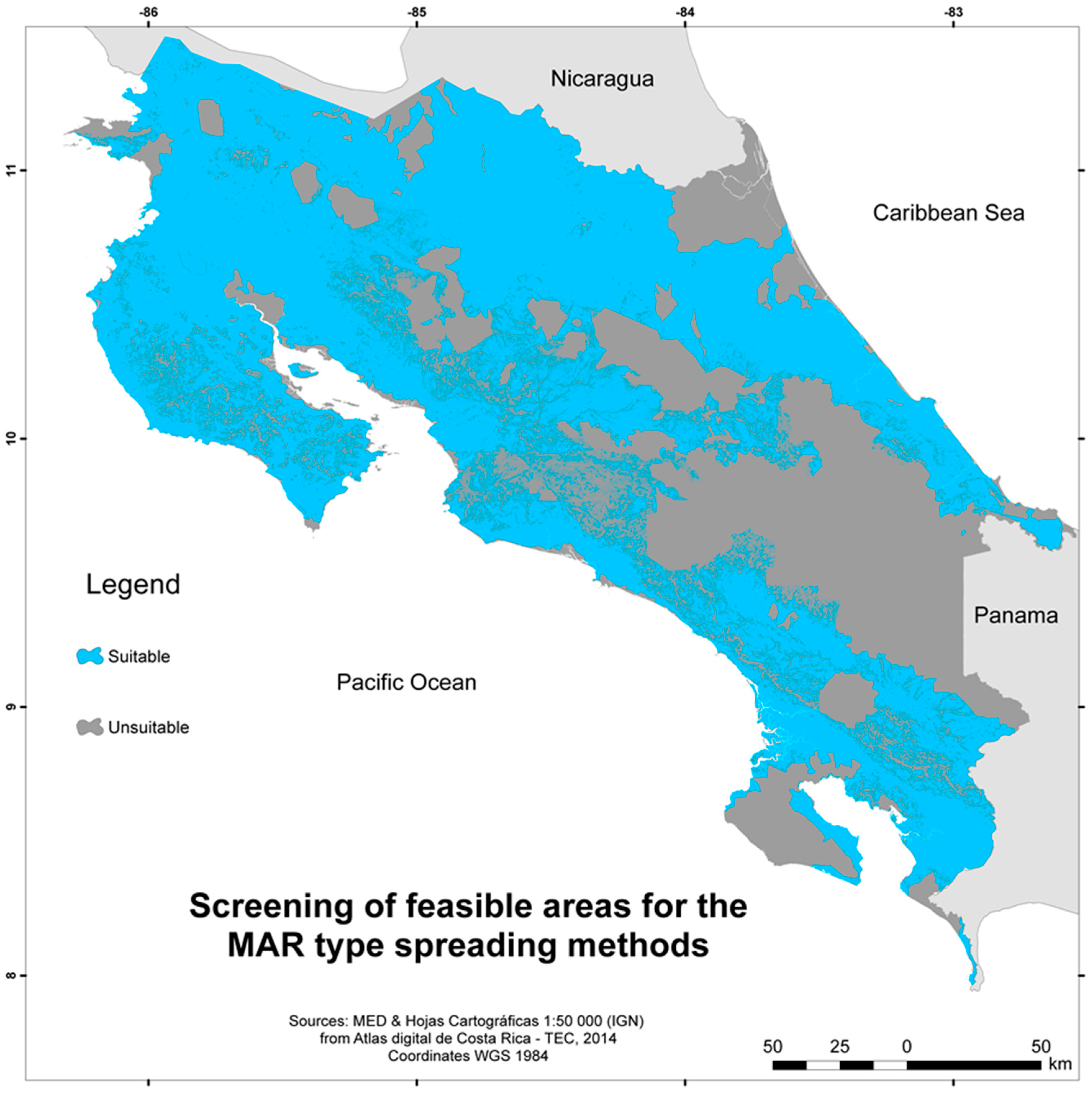 Water Free FullText Application of a GIS MultiCriteria