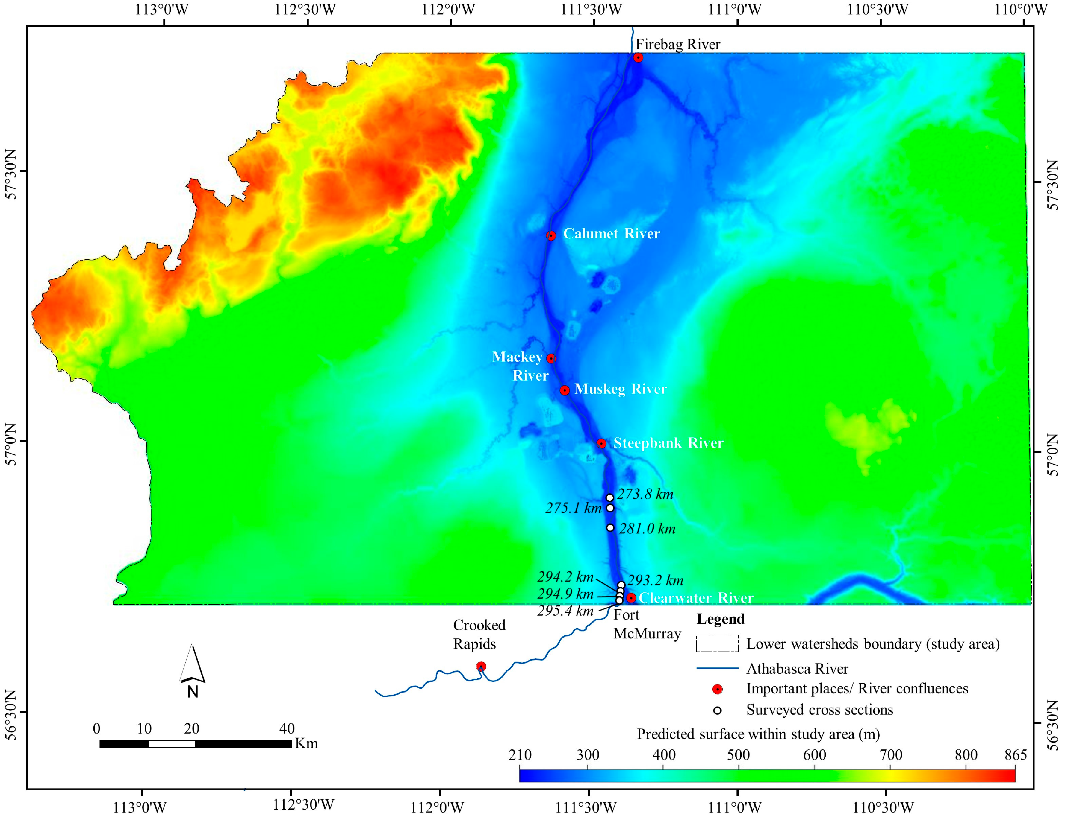 Water | Free Full-Text | Use of Bathymetric and LiDAR Data