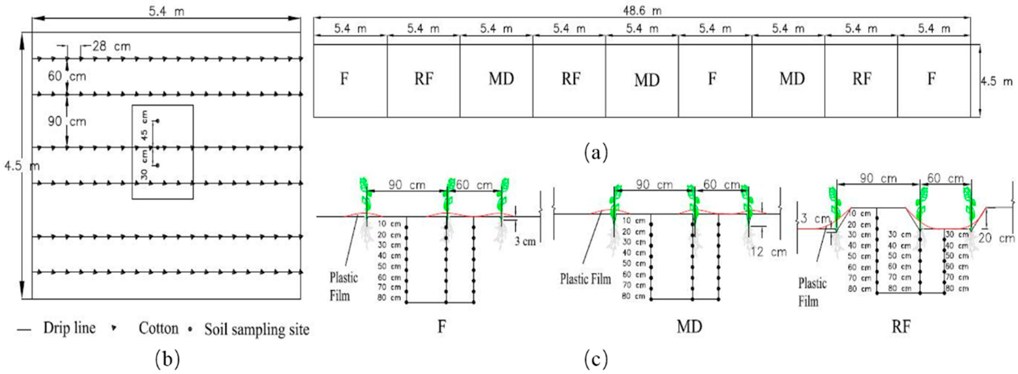 Water free full text impacts of ridge furrow planting on salt no pooptronica