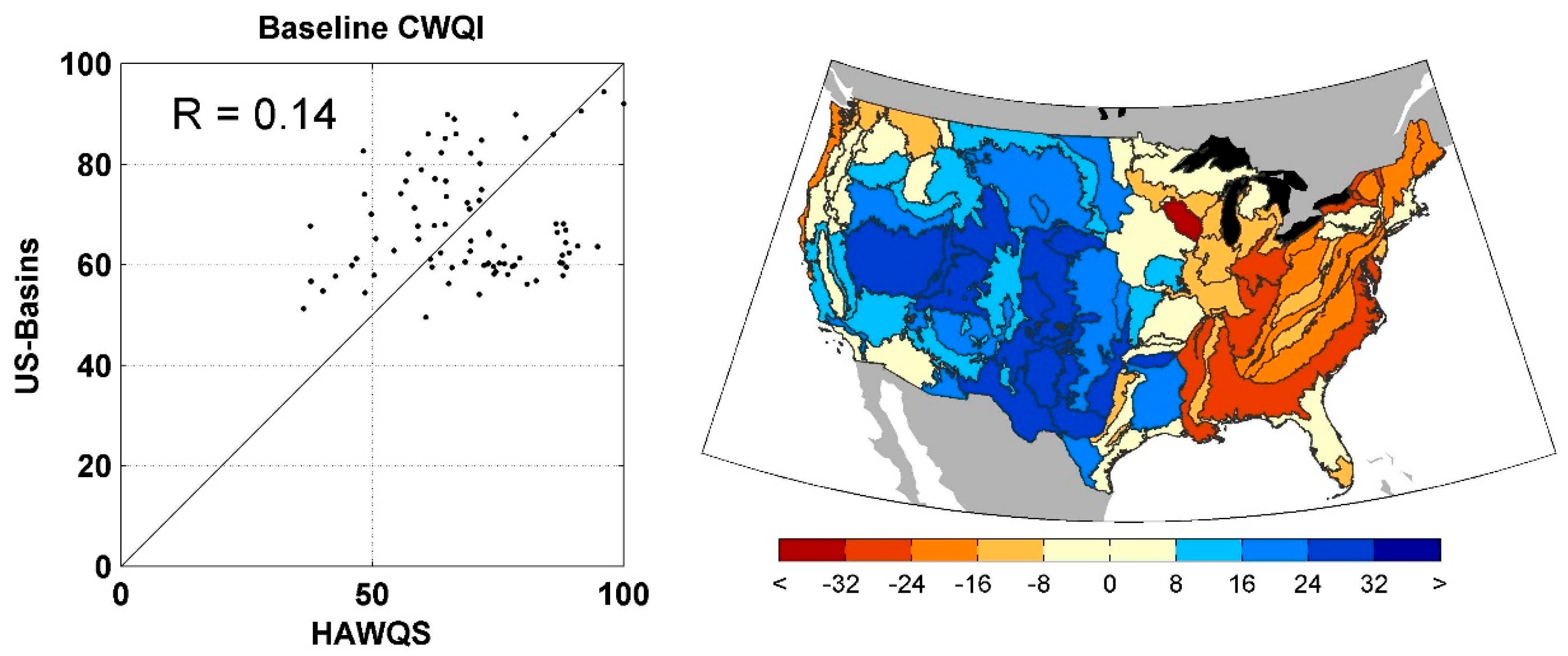 Water Free FullText Climate Change Impacts On US Water - Us drinking water quality map
