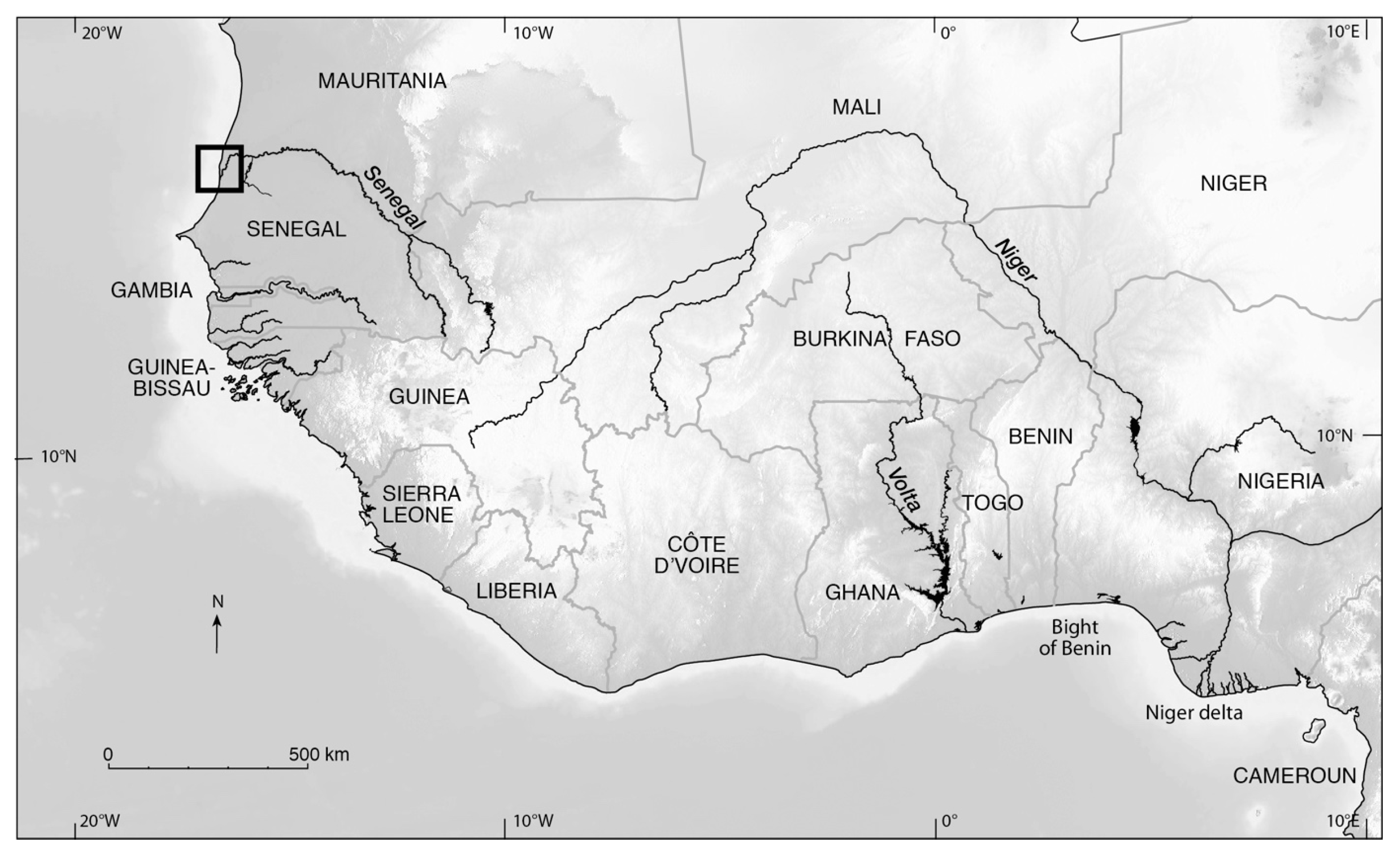 Senegal River Africa Map.Water Free Full Text Shoreline Changes On The Wave Influenced