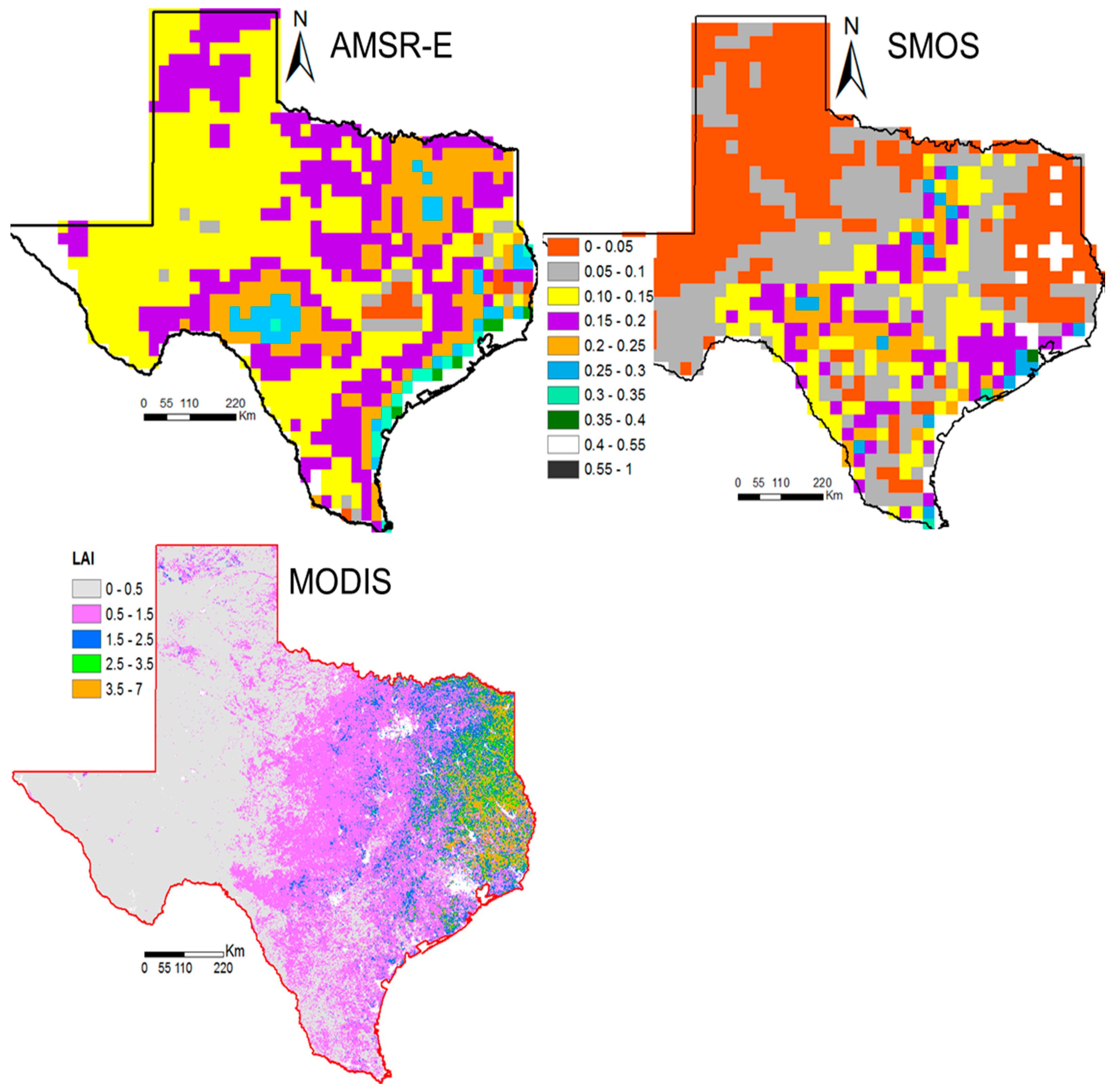 Water Free FullText Evaluation And InterComparison Of - Us soil moisture map