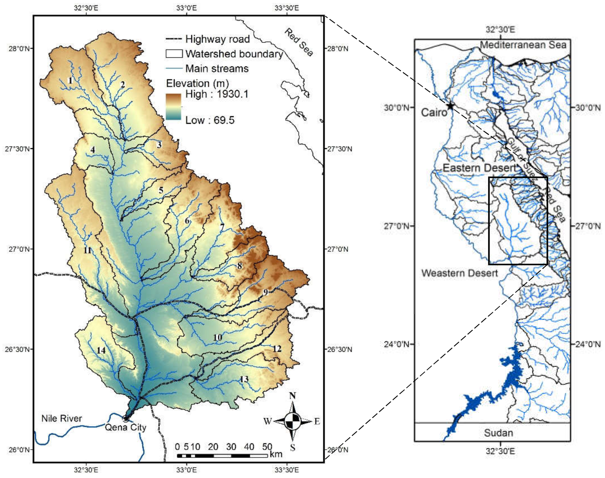 Water free full text a hydrological and geomorphometric no sciox Choice Image