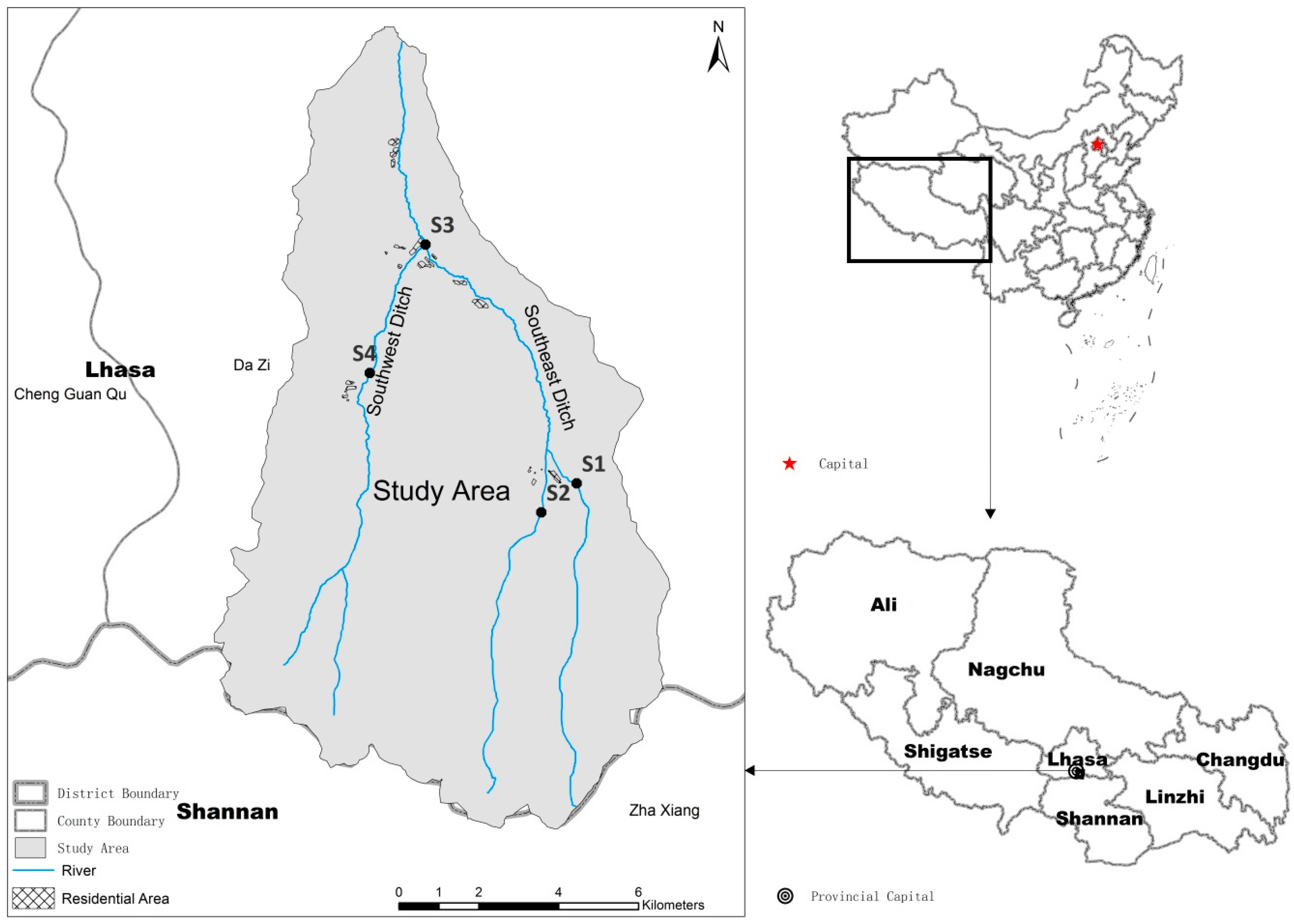 Water free full text the spatiotemporal distribution of two no fandeluxe Choice Image