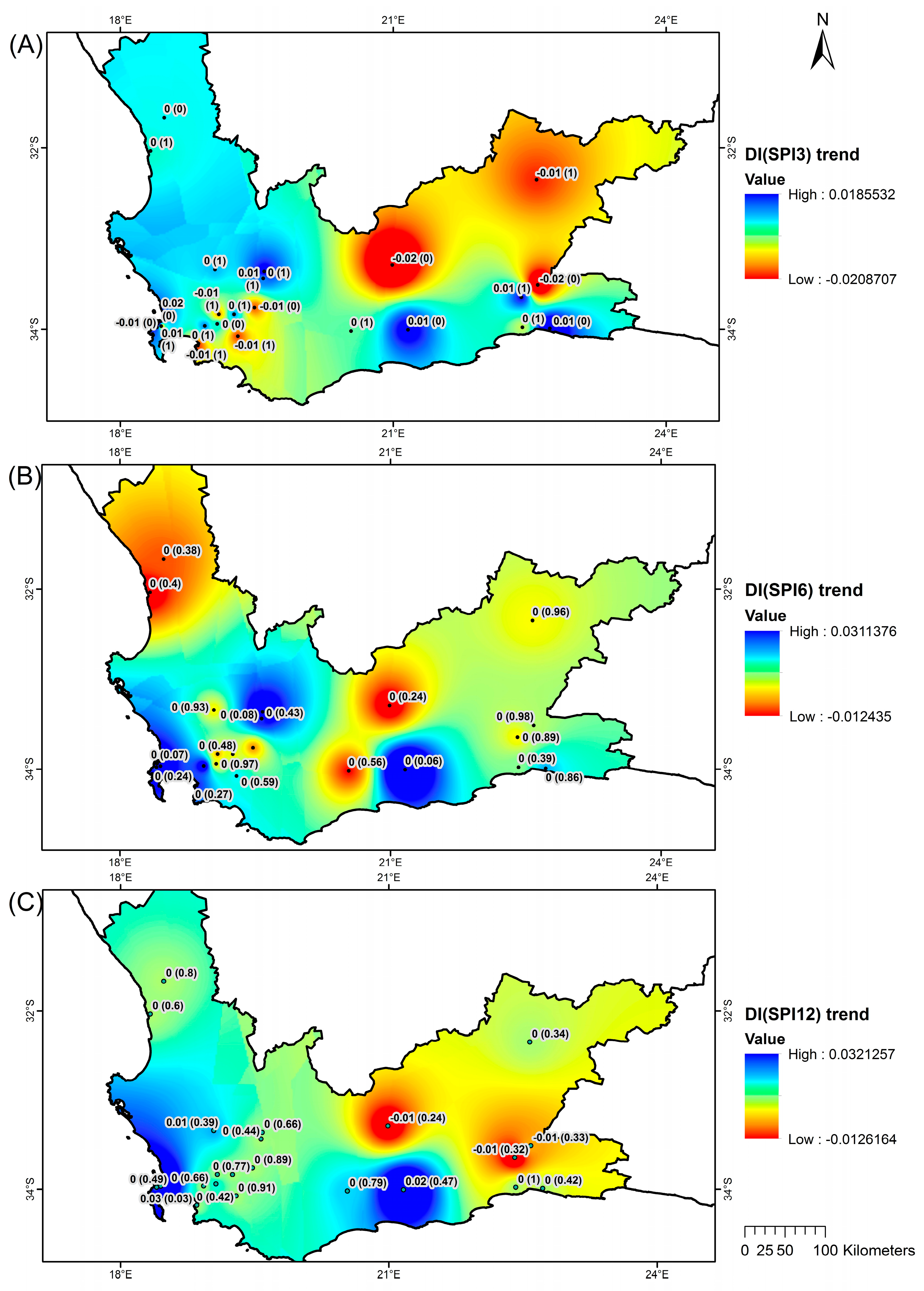 water  free full text  drought characteristics over the western
