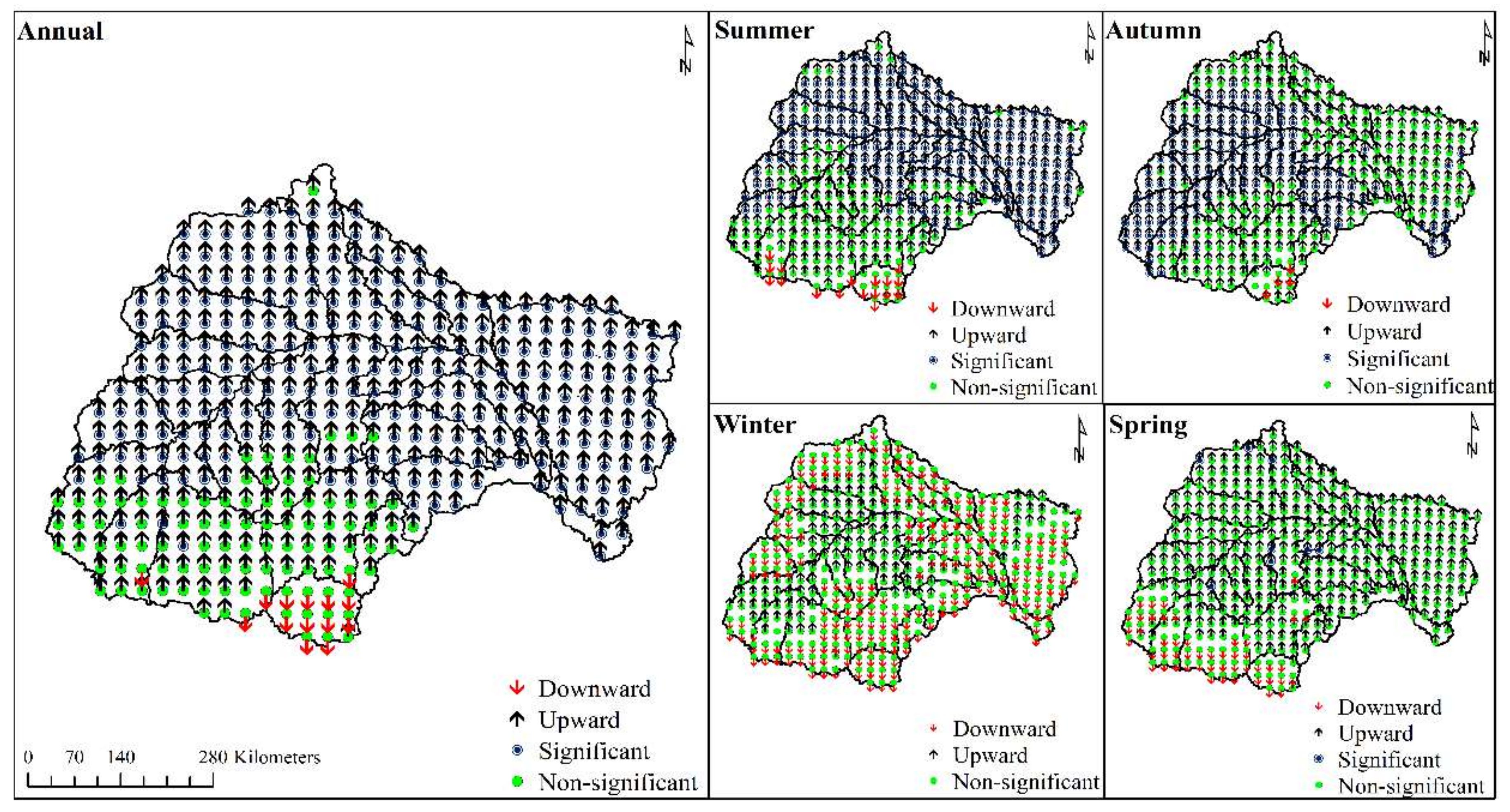 Water | Free Full-Text | Rainfall and Temperature in the Limpopo