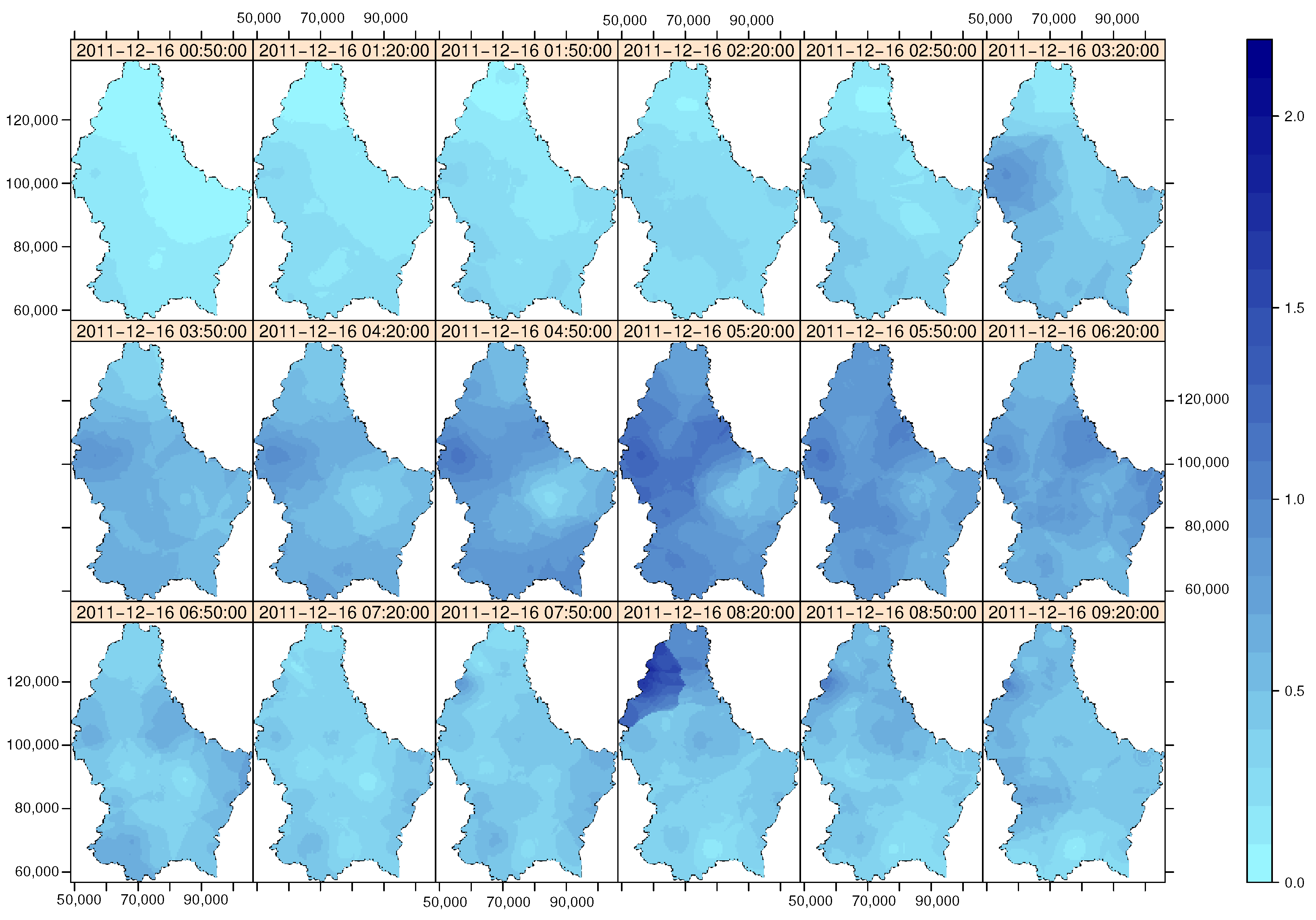 Water | Free Full-Text | stUPscales: An R-Package for Spatio ...