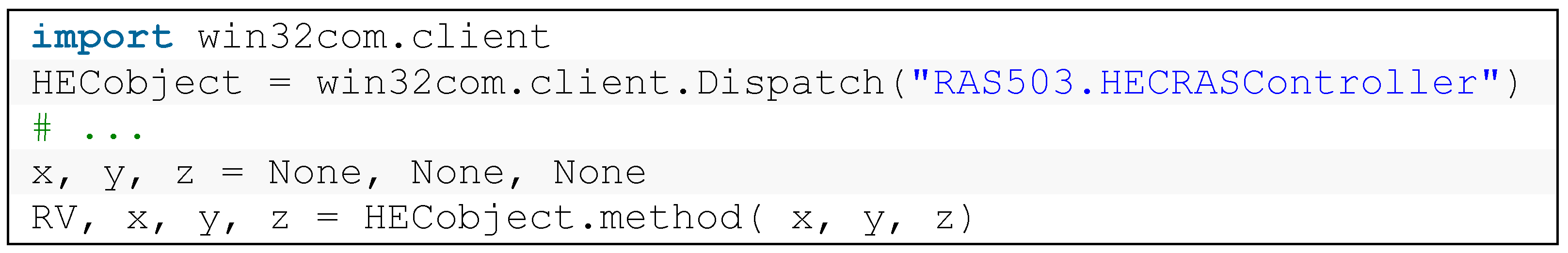 Water   Free Full-Text   Application of Python Scripting