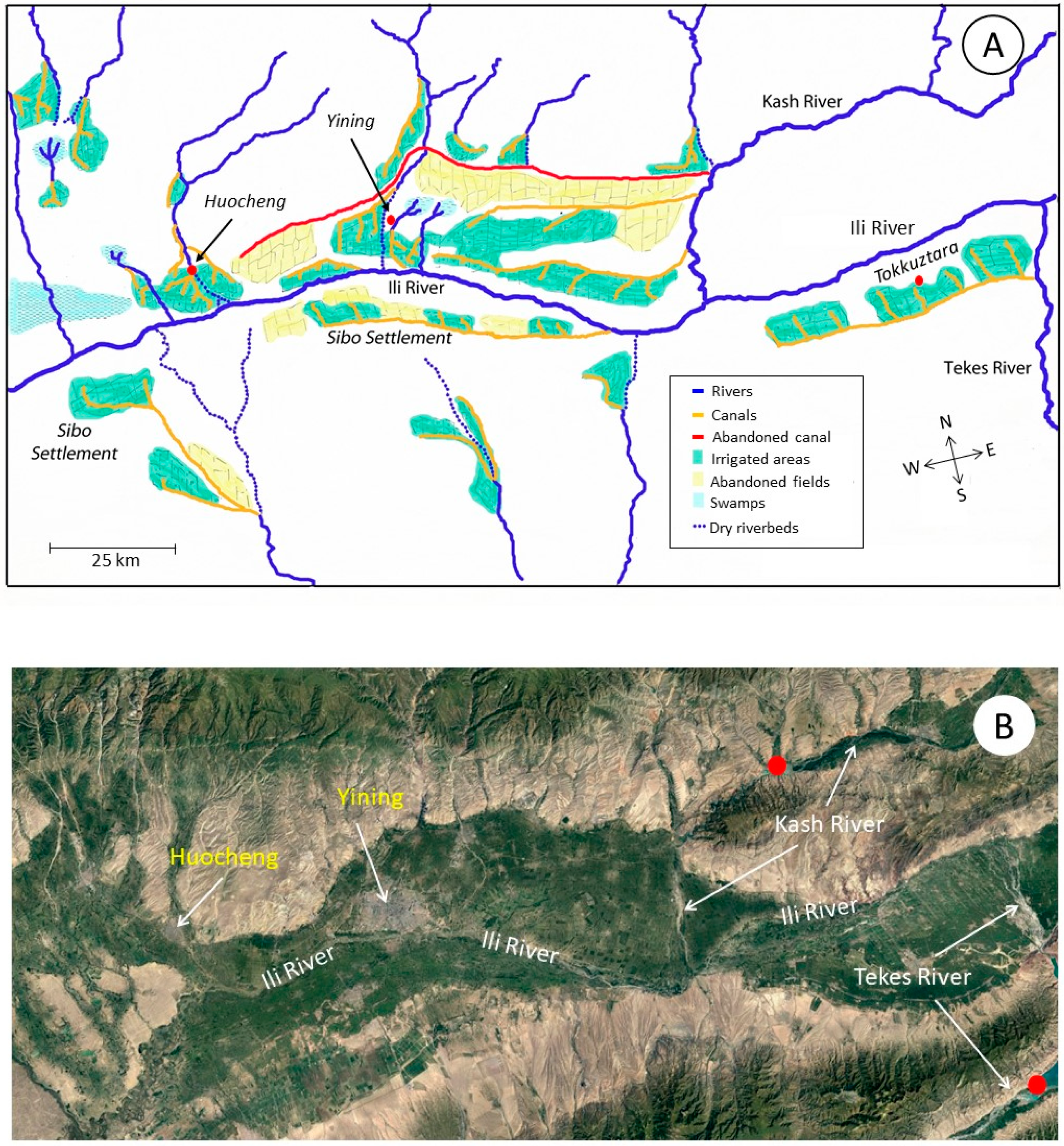 Picture of: Water Free Full Text Irrigation In The Ili River Basin Of Central Asia From Ditches To Dams And Diversion Html