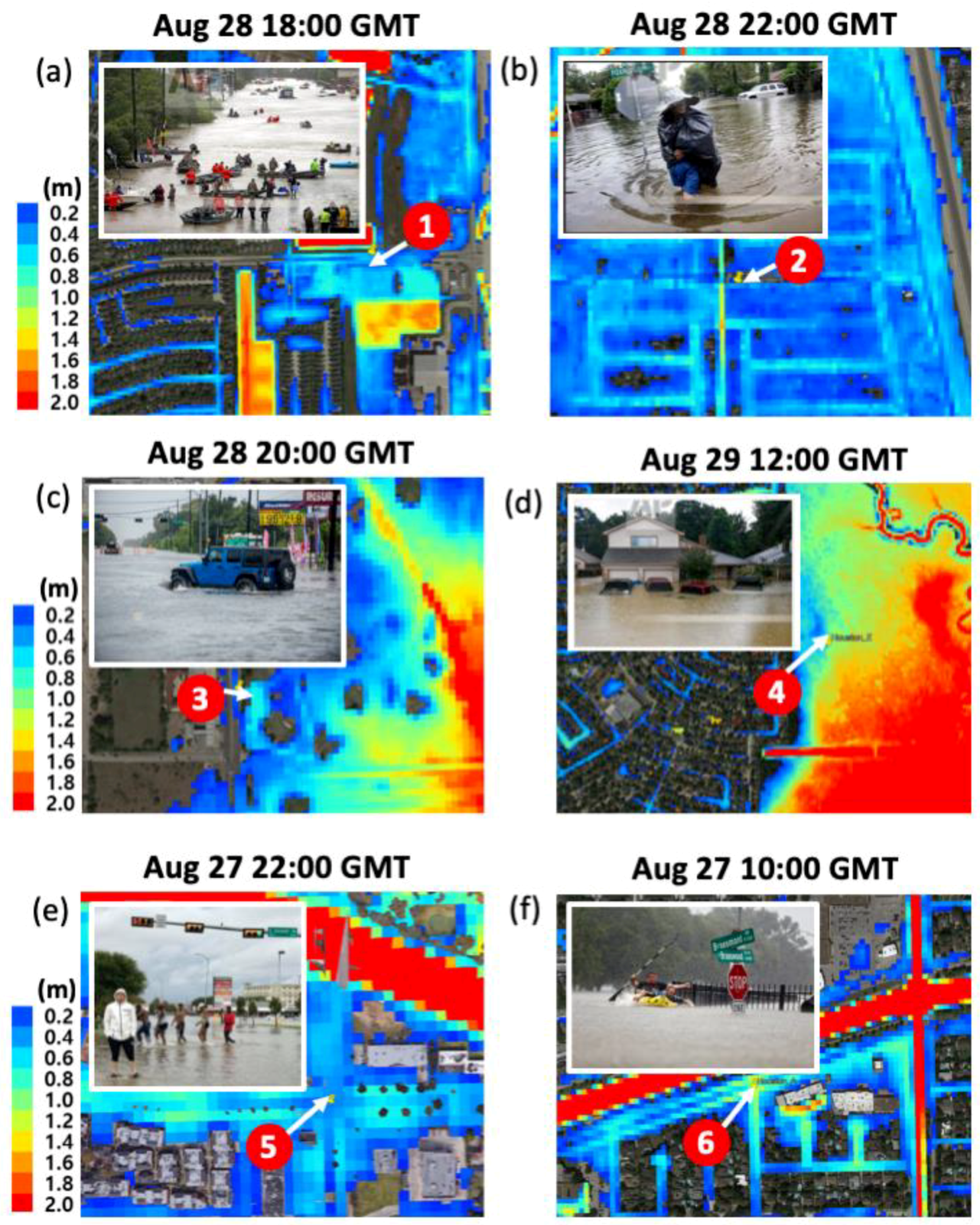 Water   Free Full-Text   Retrospective Dynamic Inundation