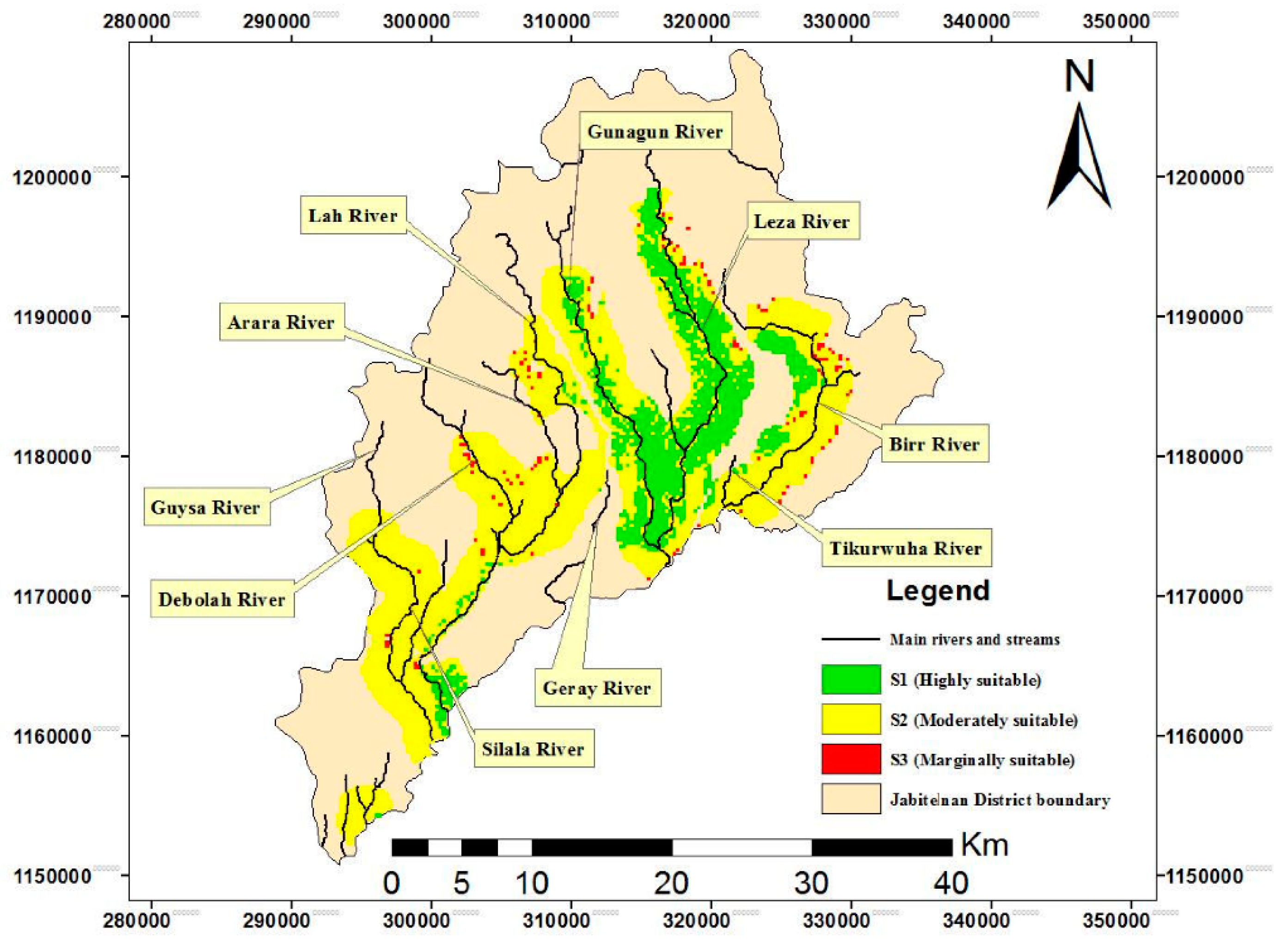 Water | Free Full-Text | Assessment of Suitable Land for