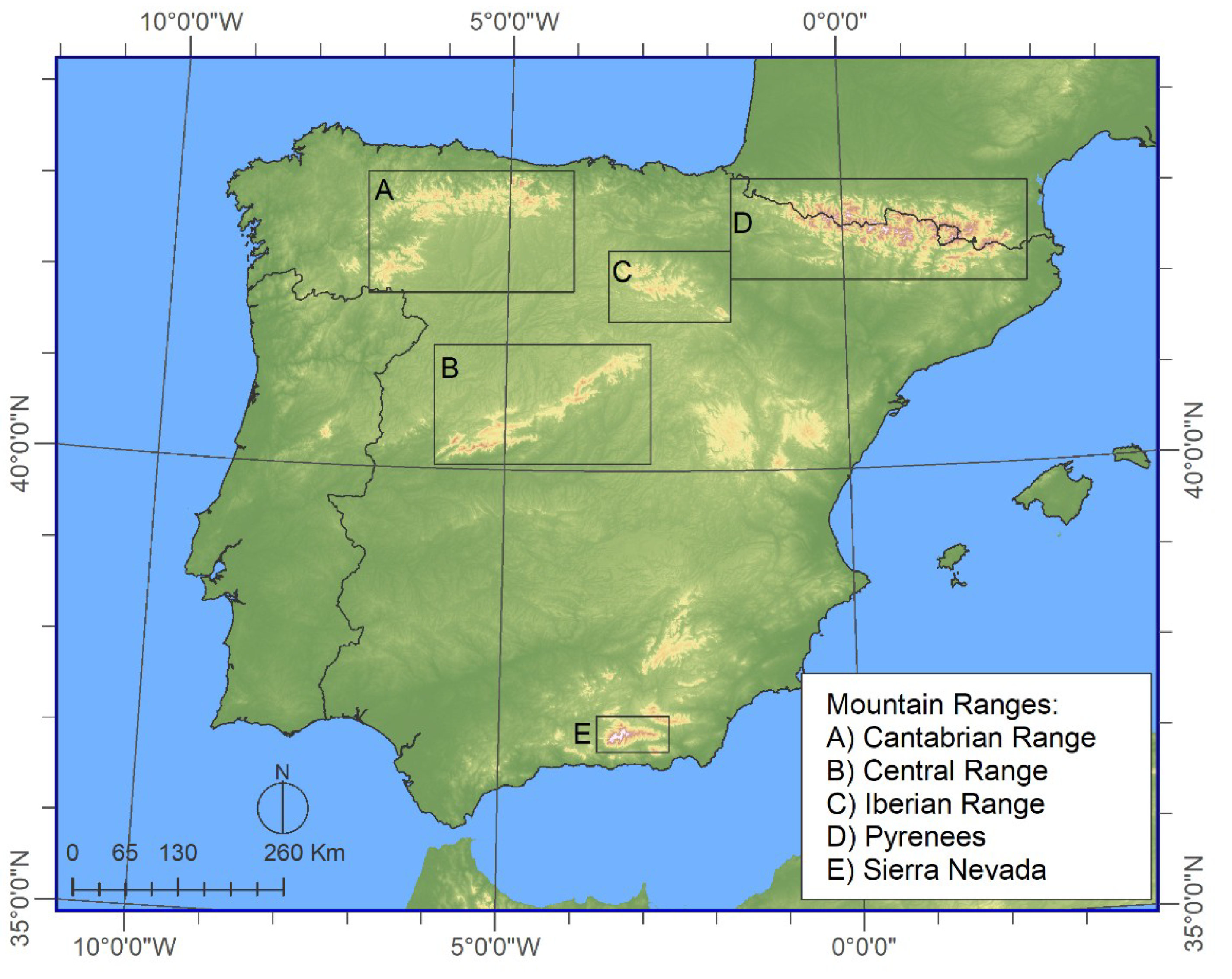 Image of: Water Free Full Text Impact Of North Atlantic Oscillation On The Snowpack In Iberian Peninsula Mountains