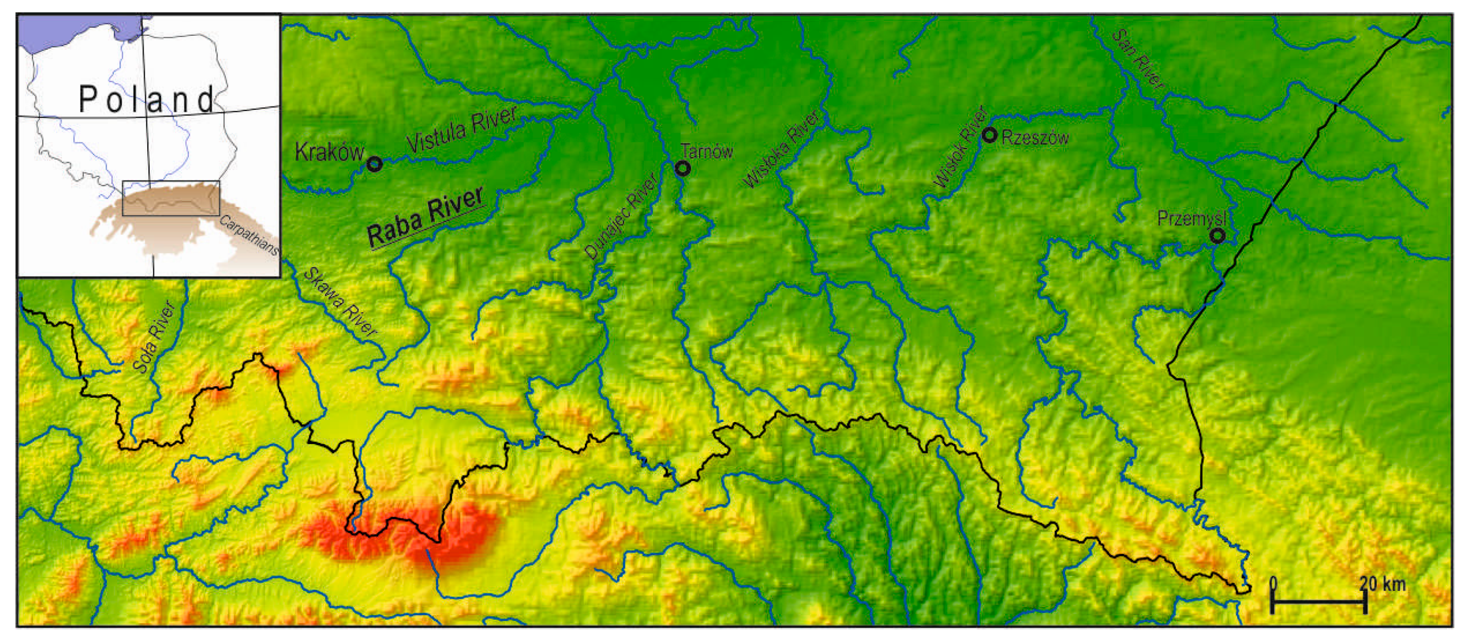 Water Free Full Text The Evolution Of Gravel Bed Rivers During The Post Regulation Period In The Polish Carpathians Html